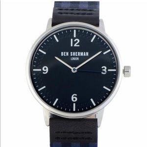 Ben Sherman Men's Portobello Gingham Casual Watch
